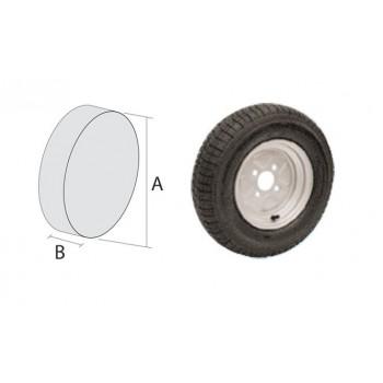 Ruota pneumatica per carrelli e rimorchi alta velocità