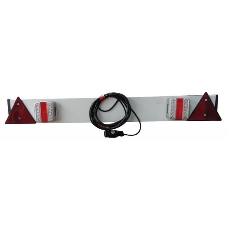 Barra posteriore con luci in plastica a LED