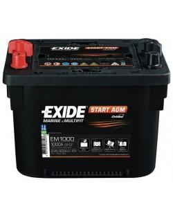 Batteria EXIDE Maxxima con tecnologia AGM - EM1000