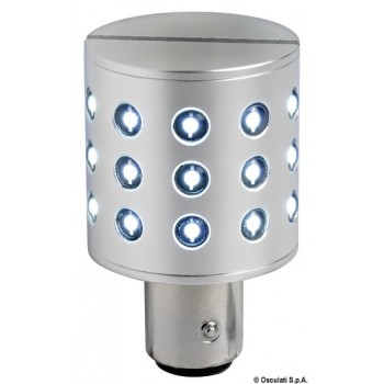 Lampadina LED BAY15D perni baionetta disassati