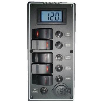 Pannello elettrico serie PCAL con voltmetro digitale 9/32 V