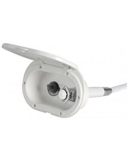 Box doccia a pulsante estraibile con interruttore stagno acceso/spento