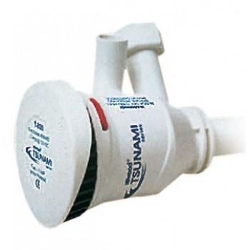 Pompa elettrica ATTWOOD a 2 uscite per areazione acquari e vasche delle esche - 46l/min