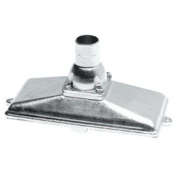 Succhiarola in acciaio inox AISI 316 orizzontale