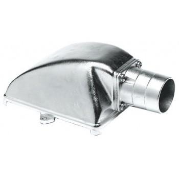 Succhiarola in acciaio inox AISI 316 verticale