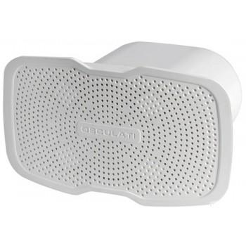 Tromba da incasso Sound in ABS bianco - 12V