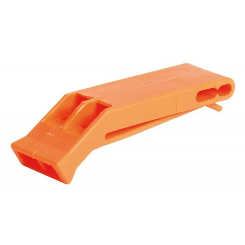 Fischietto arancione in plastica
