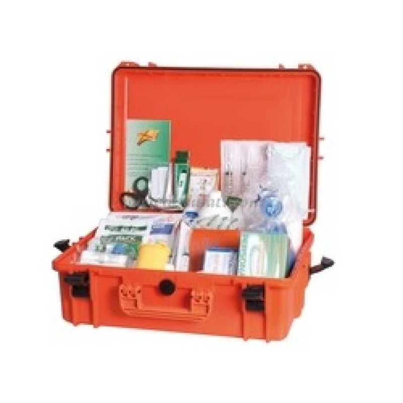 Valigetta di pronto soccorso Tab.A in contenitore stagno IPX7