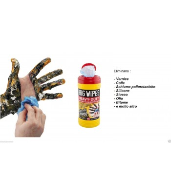 BIG WIPES CLEANING WIPES FOR HEAVY DUTY - 80 PZ