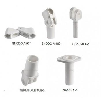 Accessori di ricambio per tendalini, per tubi Ø 20 mm