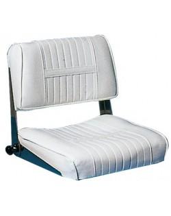 Sedile anatomico con schienale abbattibile