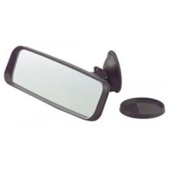 Specchietto retrovisore con ventosa