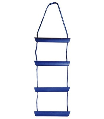 Temporary boarding ladder