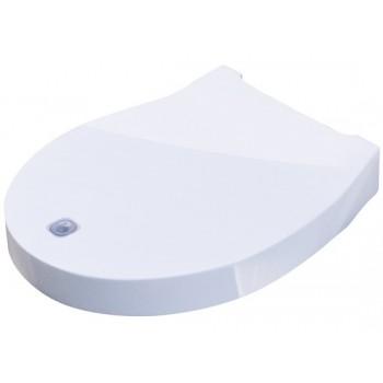 Copriwater con sistema di pulizia integrato con chiusura soft close