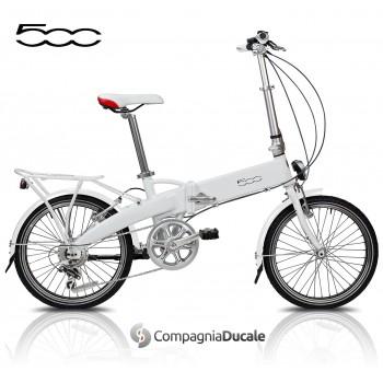 Bici elettrica pieghevole e-Bike Fiat 500