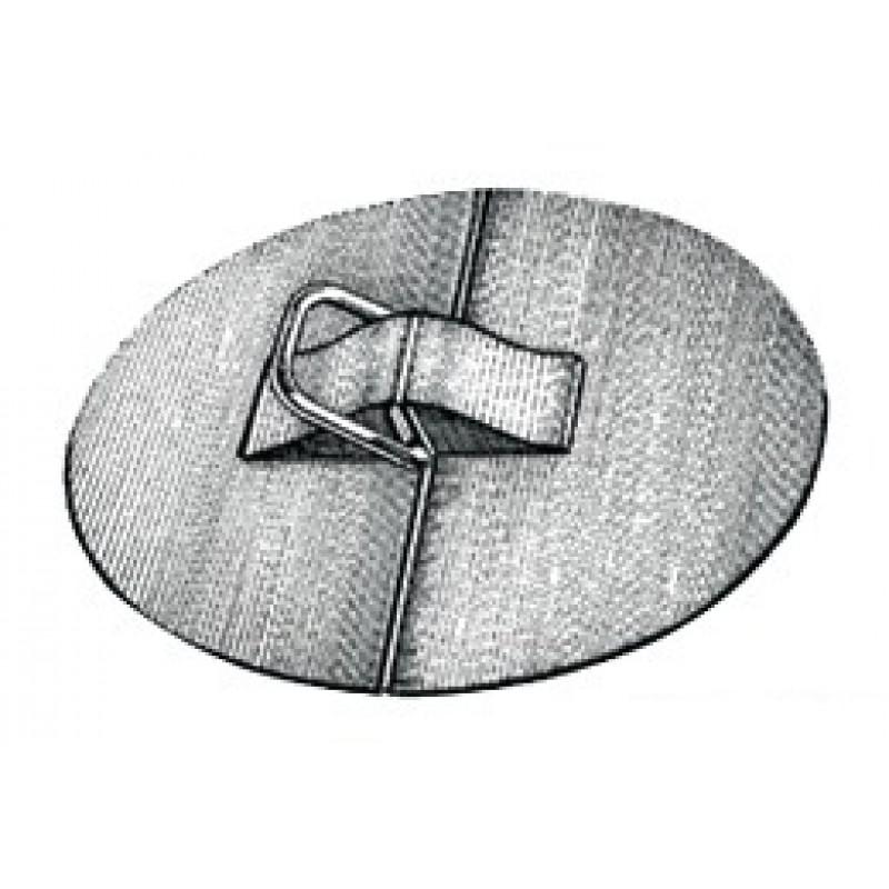 """Anelli a """"D"""" in EPDM con anello inox ø 100 mm"""