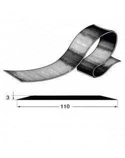 Piattina salvachiglia o come bordo laterale in EPDM 110 x 3 mm