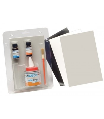 Professional repair kit for inflatables for PVC