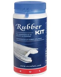 Kit riparazione gommoni Rubber kit colore bianco
