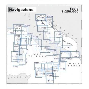 Cartografia costiera NAVIMAP media navigazione