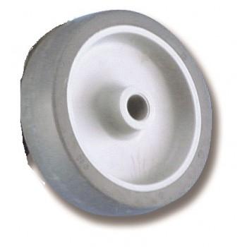 Ruota di ricambio per passerella in gomma ø 80 mm