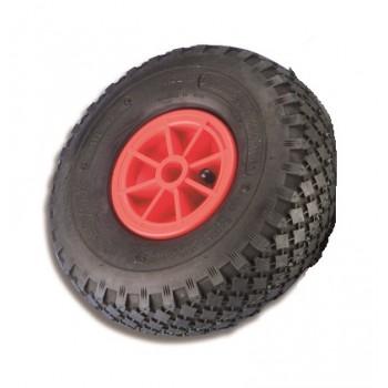 Ruota di ricambio carrelli in gomma pneumatiche ø 260 mm