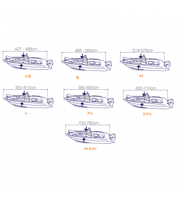 Boats cover «Covy Line»