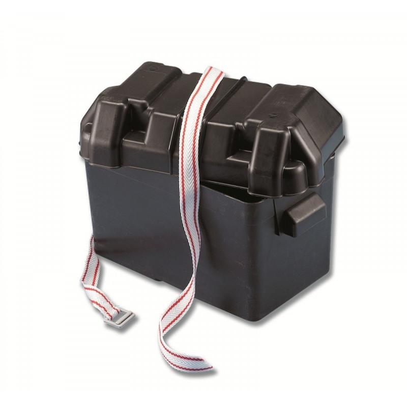Cassetta portabatteria 100A in polipropilene antiurto