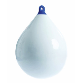 Parabordo a pera Majoni bianco con testa blu