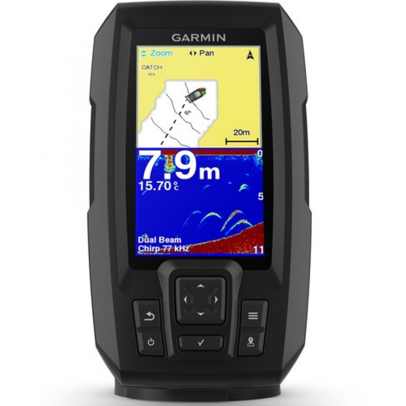 Ecoscandaglio Garmin Striker Plus 4 eco/gps