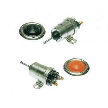 Teleruttore per verricelli con comando meccanico a pedale
