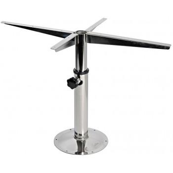 Supporto per tavolo girevole e telescopico