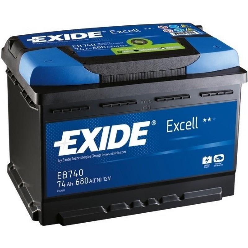 Batterie EXIDE Excell per avviamento