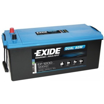 Batteria EXIDE Agm 240 Ah per servizi ed avviamento