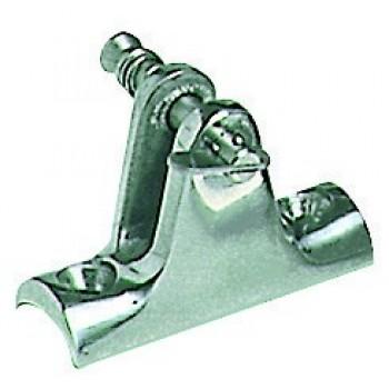Supporto a base concava per tubo e perno sfilabile con molla