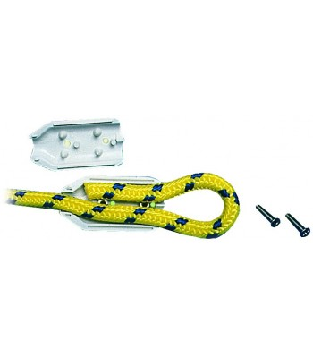Clamps for rope splicing