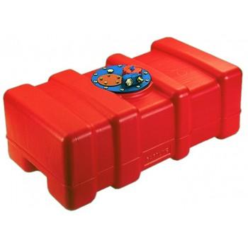 Serbatoio carburante in eltex arancio omologati CE varie misure