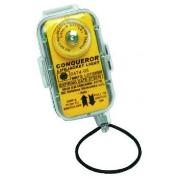 Segnalatore elettronico automatico per cintura salvataggio