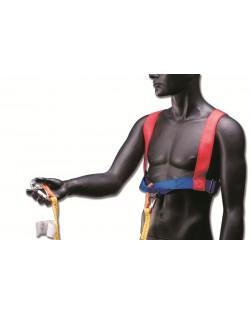 Cintura con cinghia di aggancio a due moschettoni - ADULTO