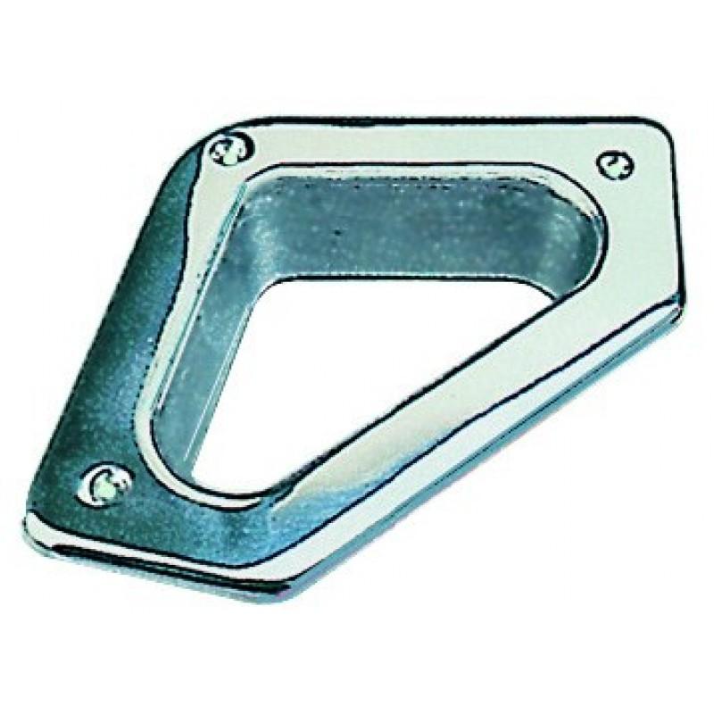 Cubia triangolare in acciaio