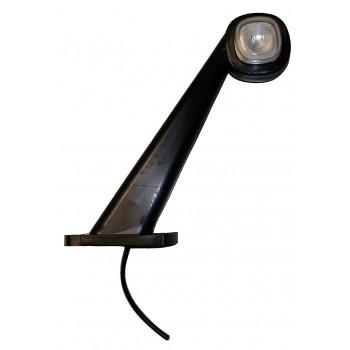 Fanale laterale d'ingombro a LED, 45°