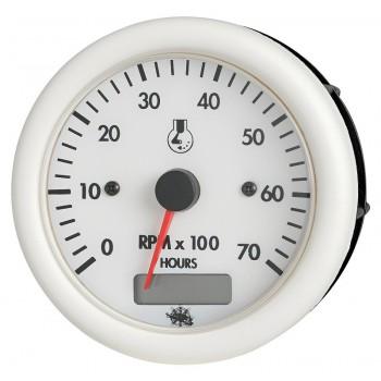 Spidometro GUARDIAN 0-50 nodi con totalizzatore miglia - 12V