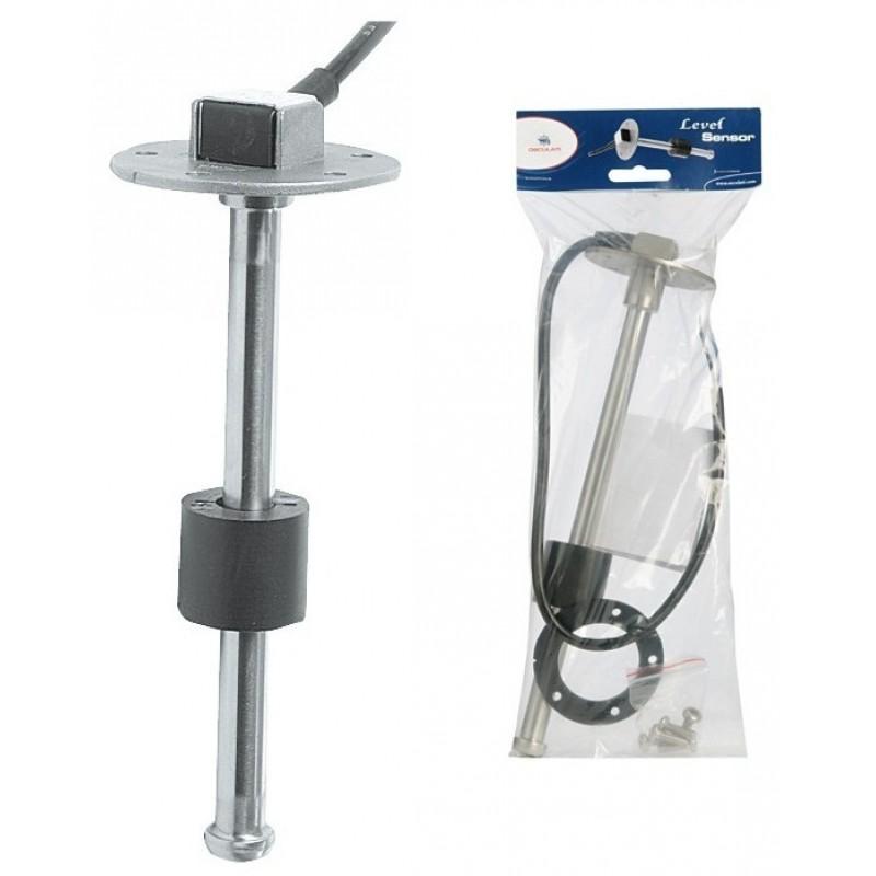 Indicatore sensore galleggiante verticale acqua/carburante  10/180 Ohm