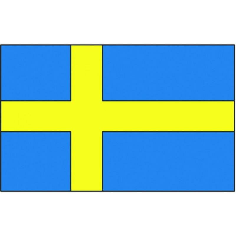 Bandiera Svezia 20x30 cm
