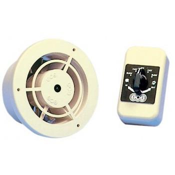Elettroventilatore reversibile (ventilazione od aspirazione aria)
