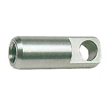 Terminale ad occhiello in acciaio inox