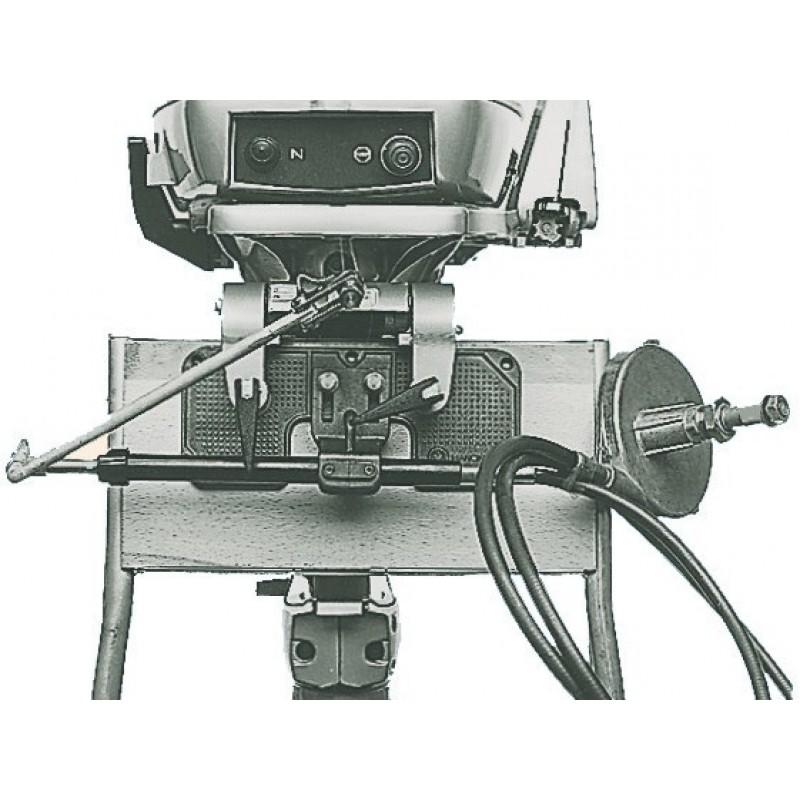 Dispositivo per l'installazione delle timonerie monocavo
