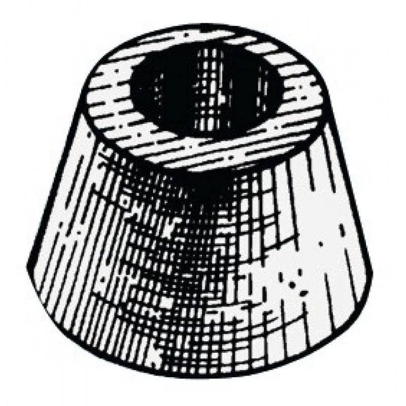 Anodo tipo Vetus Ø mm 80x45h.