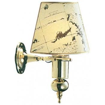 Lampada oscillante a parete con pergamena