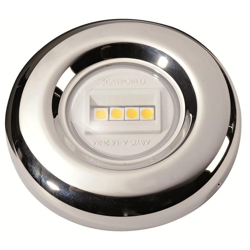 Fanale a LED poppa completamente in acciaio inox